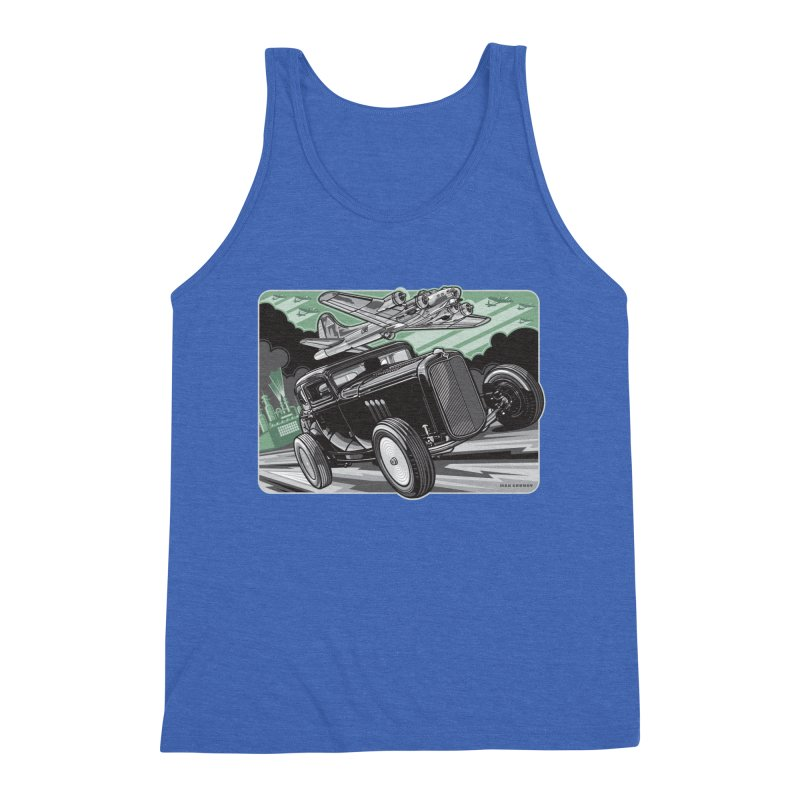 CHEMICAL CITY COUPE Men's Triblend Tank by Max Grundy Design's Artist Shop