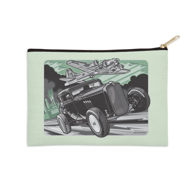 CHEMICAL CITY COUPE Accessories Zip Pouch by Max Grundy Design's Artist Shop