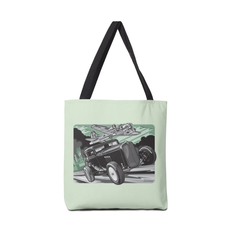 CHEMICAL CITY COUPE Accessories Tote Bag Bag by Max Grundy Design's Artist Shop