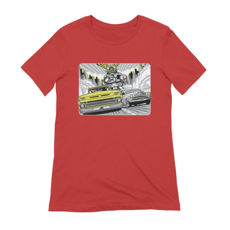 DRIVEN Women's Extra Soft T-Shirt by Max Grundy Design's Artist Shop