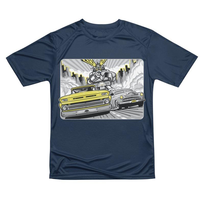 DRIVEN Women's Performance Unisex T-Shirt by Max Grundy Design's Artist Shop