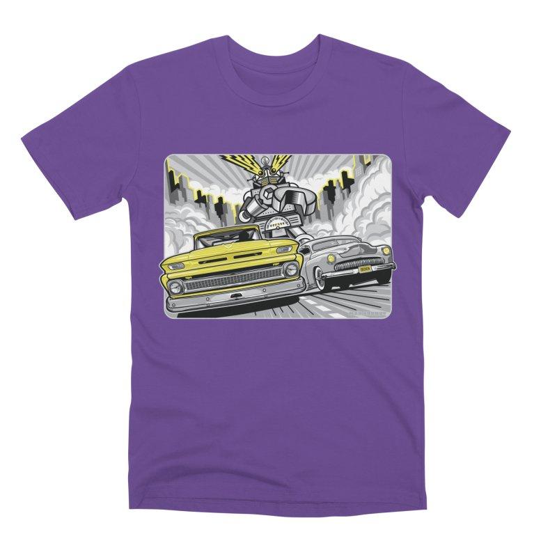 DRIVEN Men's Premium T-Shirt by Max Grundy Design's Artist Shop