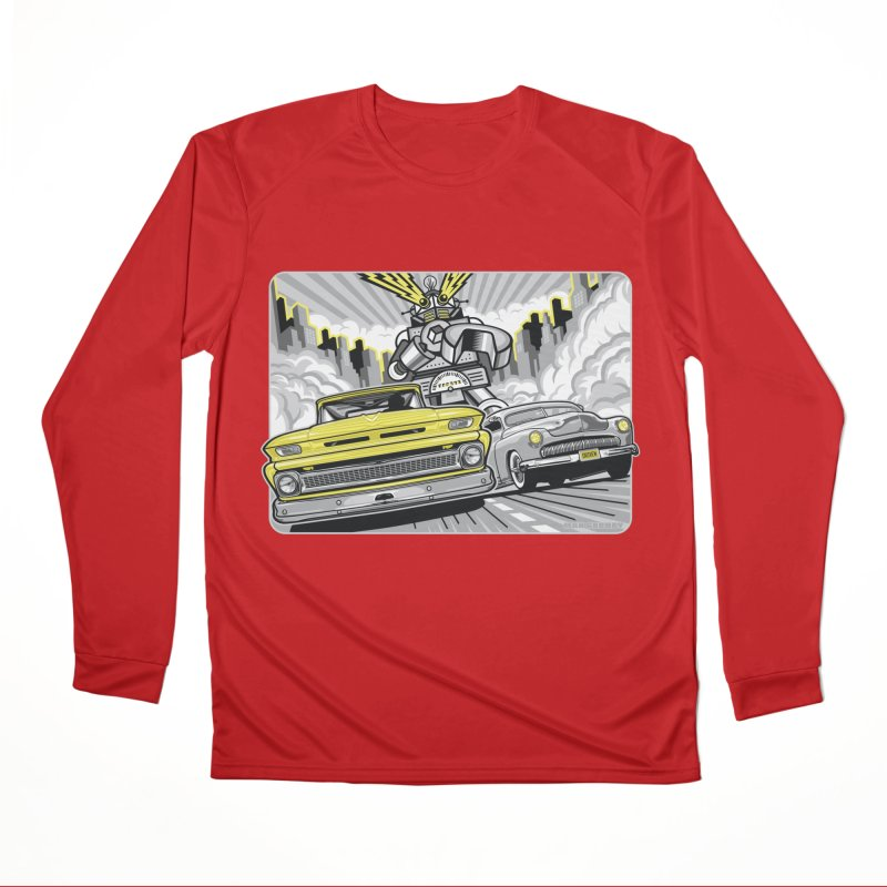 DRIVEN Women's Performance Unisex Longsleeve T-Shirt by Max Grundy Design's Artist Shop