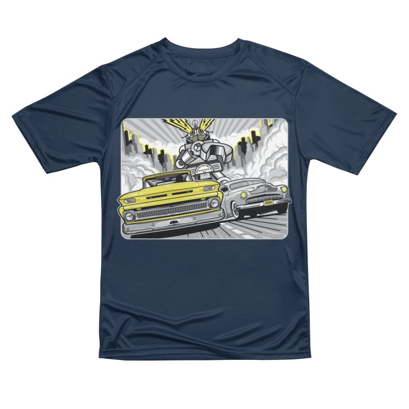 DRIVEN Men's Performance T-Shirt by Max Grundy Design's Artist Shop