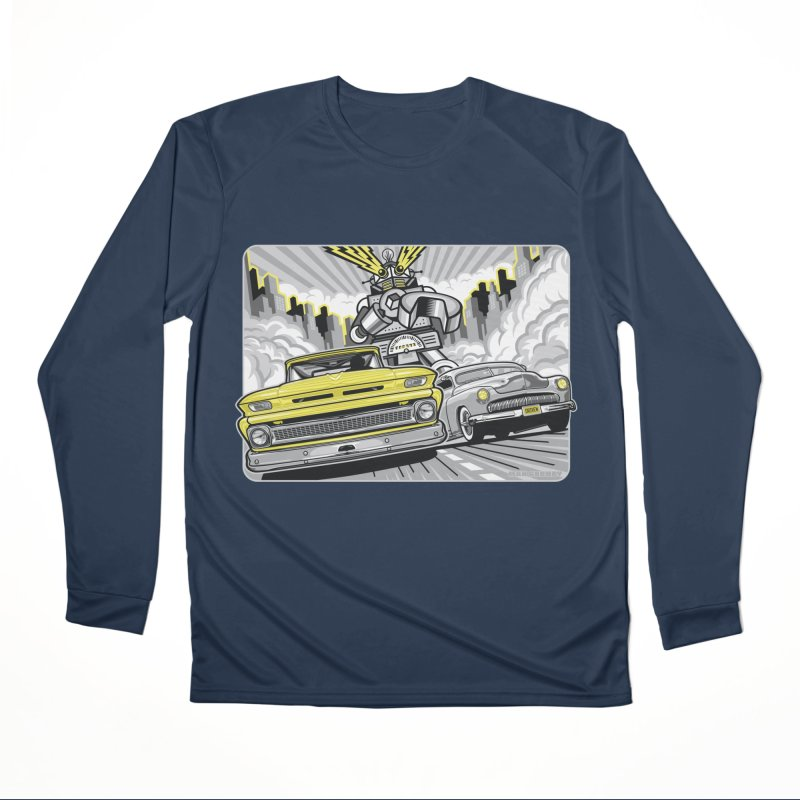 DRIVEN Men's Performance Longsleeve T-Shirt by Max Grundy Design's Artist Shop