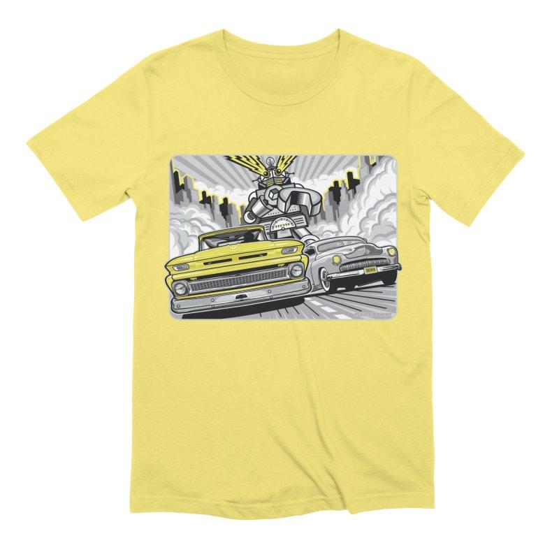 DRIVEN Men's Extra Soft T-Shirt by Max Grundy Design's Artist Shop