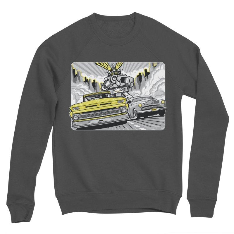 DRIVEN Men's Sponge Fleece Sweatshirt by Max Grundy Design's Artist Shop