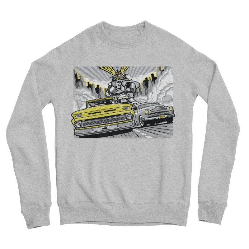 DRIVEN Women's Sponge Fleece Sweatshirt by Max Grundy Design's Artist Shop