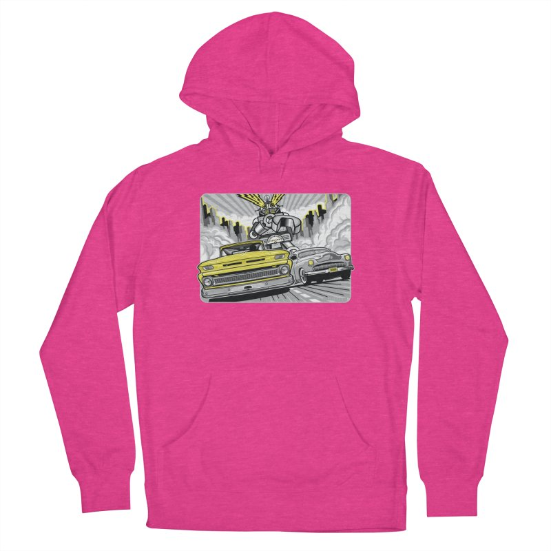 DRIVEN Men's French Terry Pullover Hoody by Max Grundy Design's Artist Shop