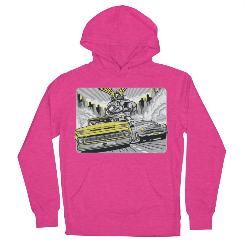 DRIVEN Women's French Terry Pullover Hoody by Max Grundy Design's Artist Shop