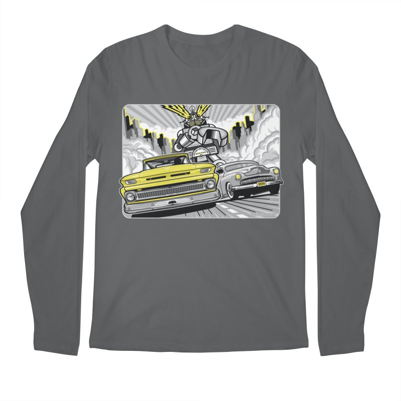 DRIVEN Men's Regular Longsleeve T-Shirt by Max Grundy Design's Artist Shop