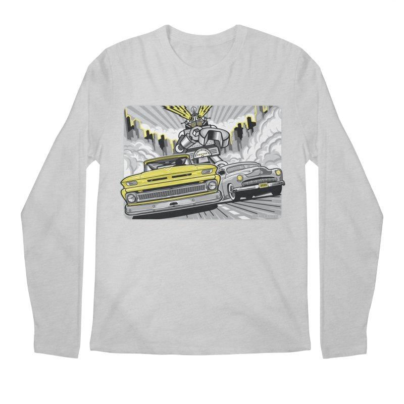 DRIVEN Men's Regular Longsleeve T-Shirt by Max Grundy Design's Artist Shop