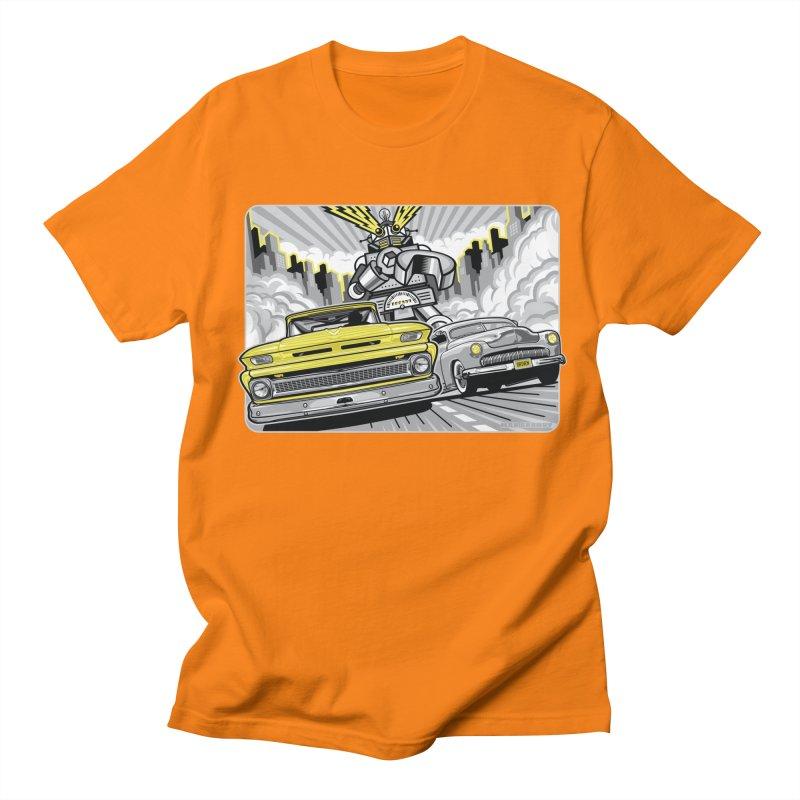 DRIVEN Men's Regular T-Shirt by Max Grundy Design's Artist Shop