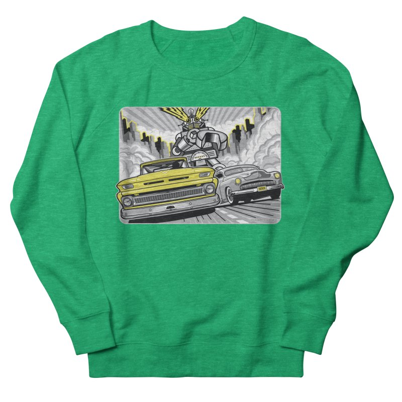 DRIVEN Women's French Terry Sweatshirt by Max Grundy Design's Artist Shop