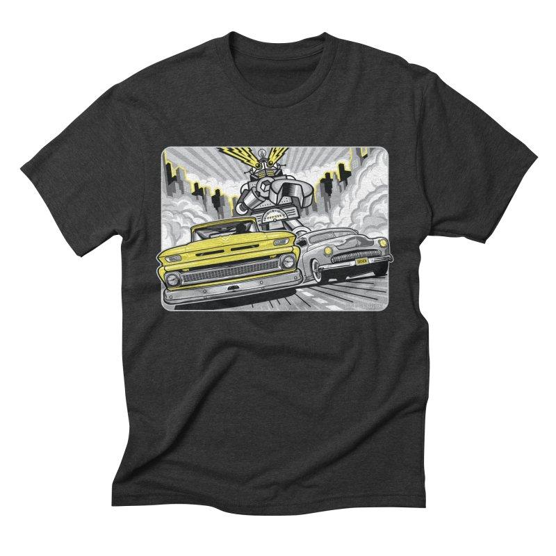 DRIVEN Men's Triblend T-Shirt by Max Grundy Design's Artist Shop