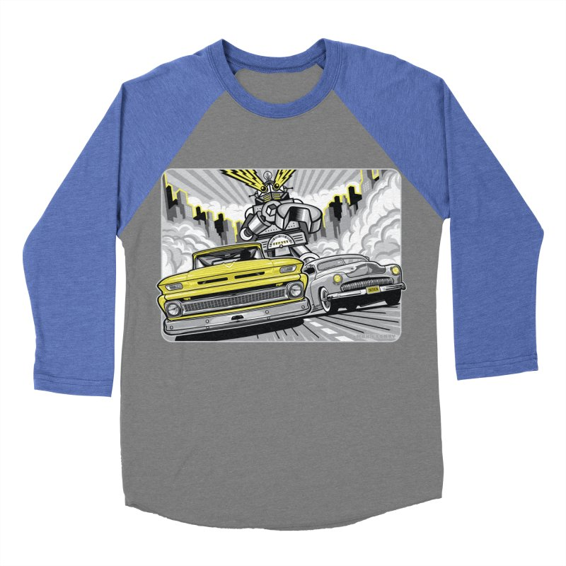 DRIVEN Men's Baseball Triblend Longsleeve T-Shirt by Max Grundy Design's Artist Shop