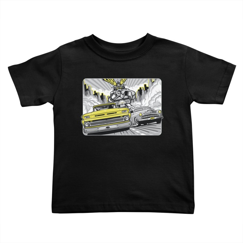 DRIVEN Kids Toddler T-Shirt by Max Grundy Design's Artist Shop