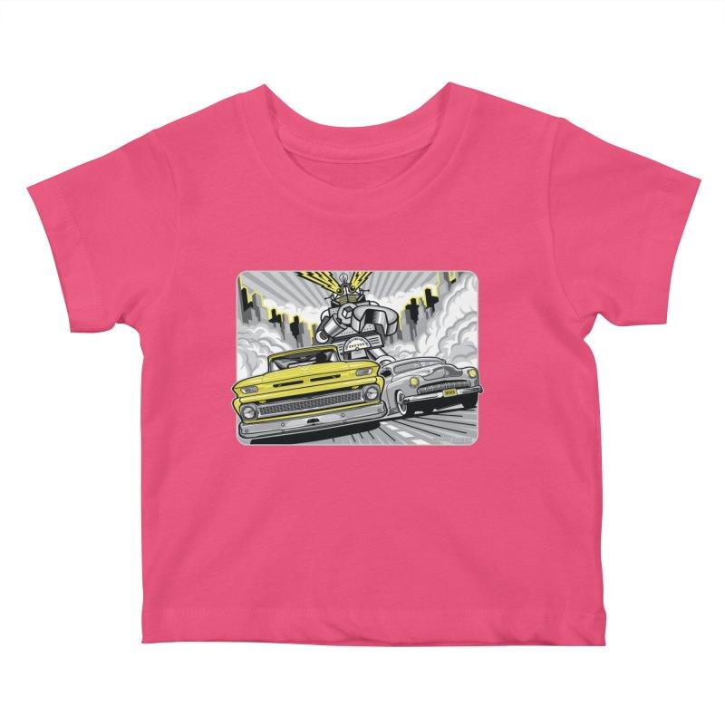 DRIVEN Kids Baby T-Shirt by Max Grundy Design's Artist Shop