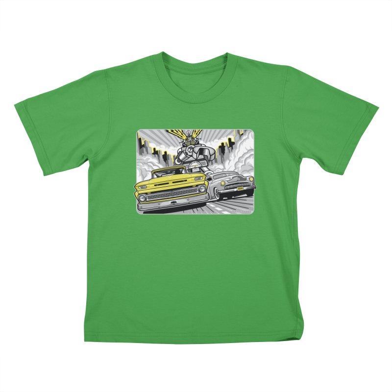 DRIVEN Kids T-Shirt by Max Grundy Design's Artist Shop