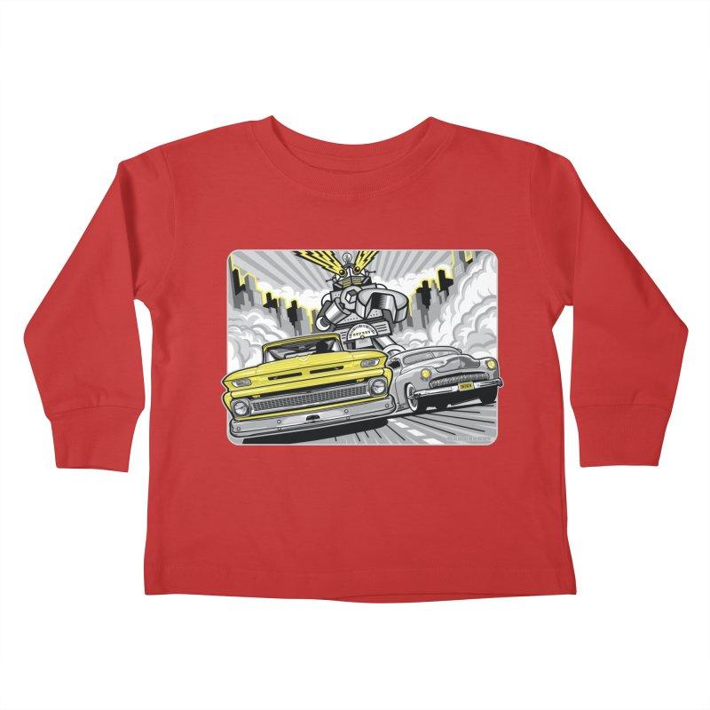 DRIVEN Kids Toddler Longsleeve T-Shirt by Max Grundy Design's Artist Shop