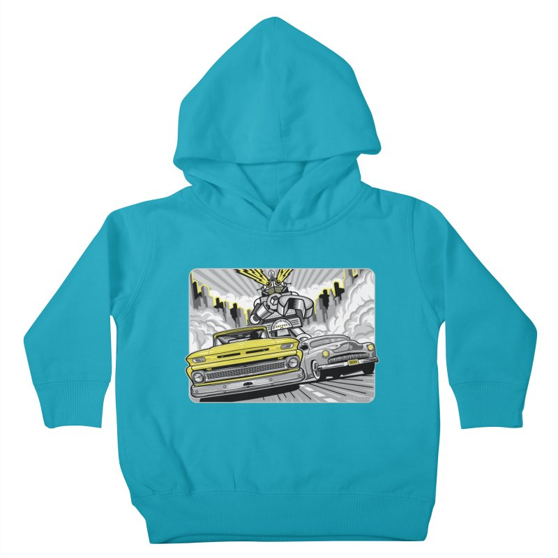 DRIVEN Kids Toddler Pullover Hoody by Max Grundy Design's Artist Shop