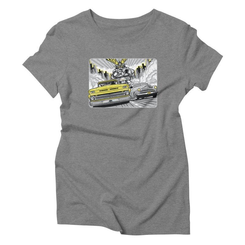 DRIVEN Women's Triblend T-Shirt by Max Grundy Design's Artist Shop