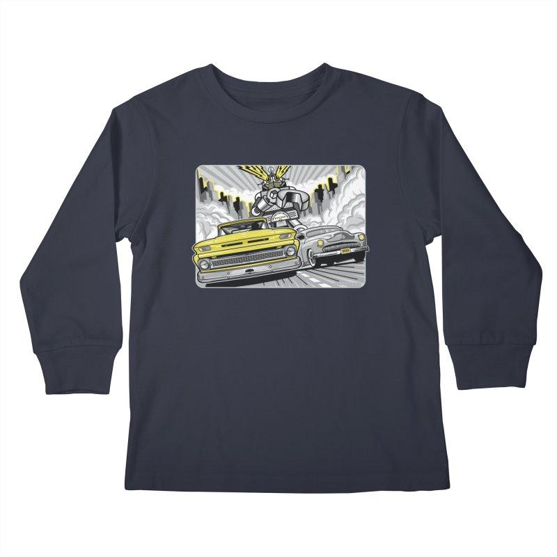DRIVEN Kids Longsleeve T-Shirt by Max Grundy Design's Artist Shop