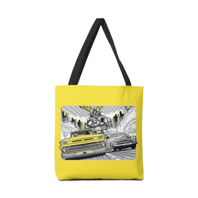 DRIVEN Accessories Tote Bag Bag by Max Grundy Design's Artist Shop