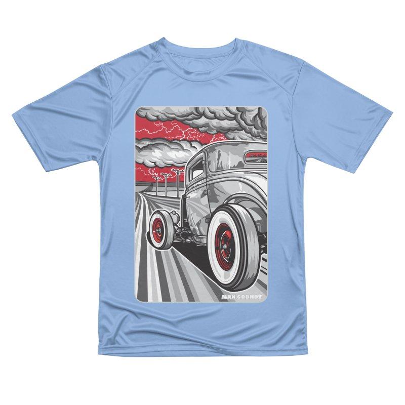 LIGHTNING ROD Men's Performance T-Shirt by Max Grundy Design's Artist Shop