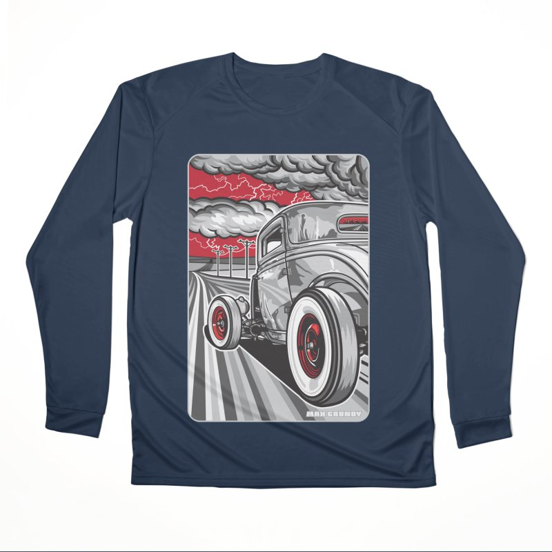 LIGHTNING ROD Women's Performance Unisex Longsleeve T-Shirt by Max Grundy Design's Artist Shop