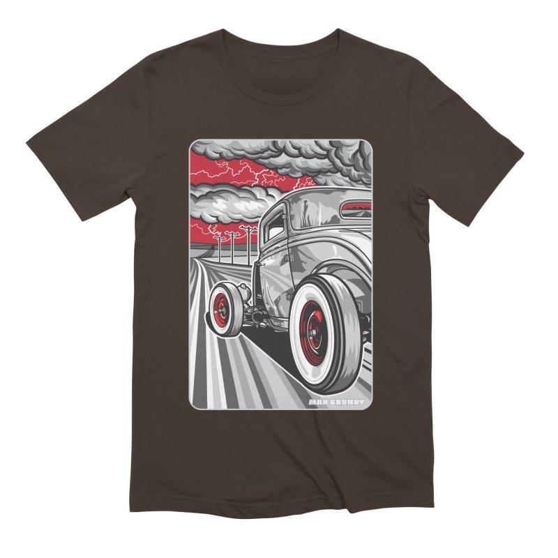 LIGHTNING ROD Men's Extra Soft T-Shirt by Max Grundy Design's Artist Shop