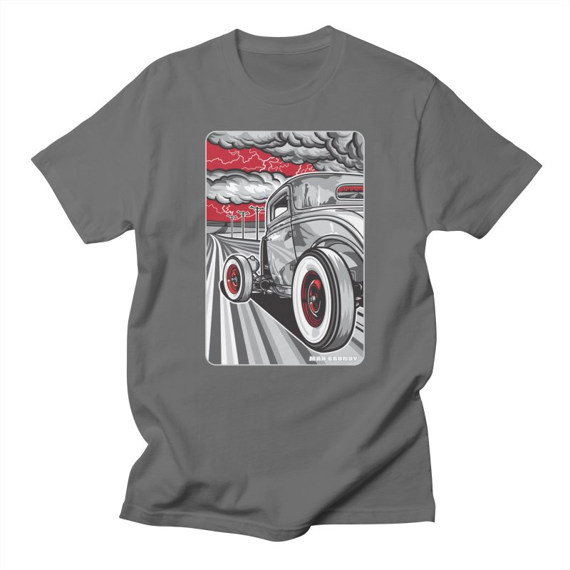 LIGHTNING ROD Men's T-Shirt by Max Grundy Design's Artist Shop