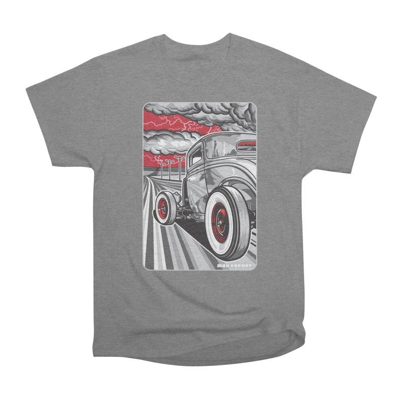 LIGHTNING ROD Women's Heavyweight Unisex T-Shirt by Max Grundy Design's Artist Shop