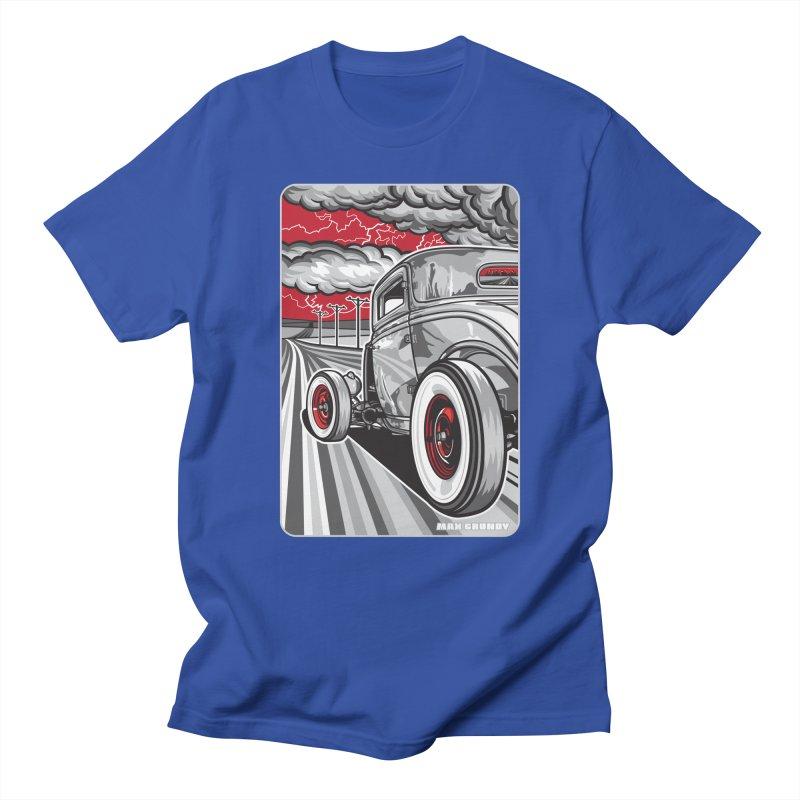 LIGHTNING ROD Men's Regular T-Shirt by Max Grundy Design's Artist Shop