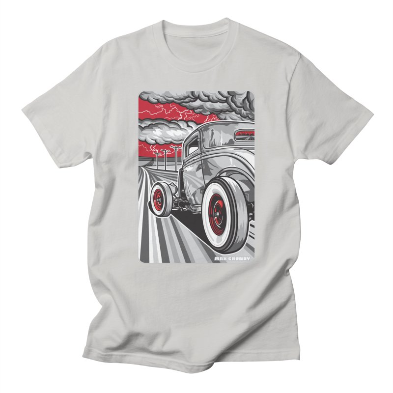 LIGHTNING ROD Men's Regular T-Shirt by Max Grundy Design's Artist Shop