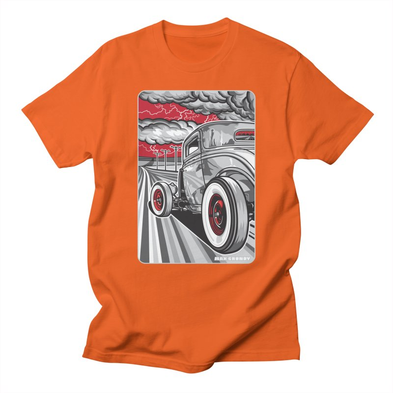 LIGHTNING ROD Women's Regular Unisex T-Shirt by Max Grundy Design's Artist Shop
