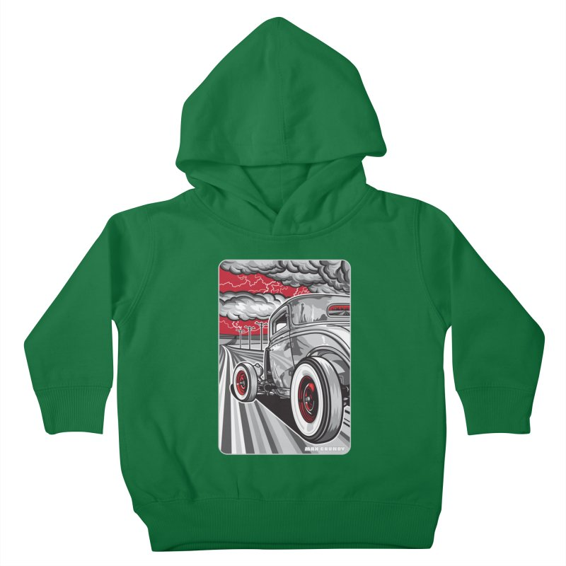 LIGHTNING ROD Kids Toddler Pullover Hoody by Max Grundy Design's Artist Shop