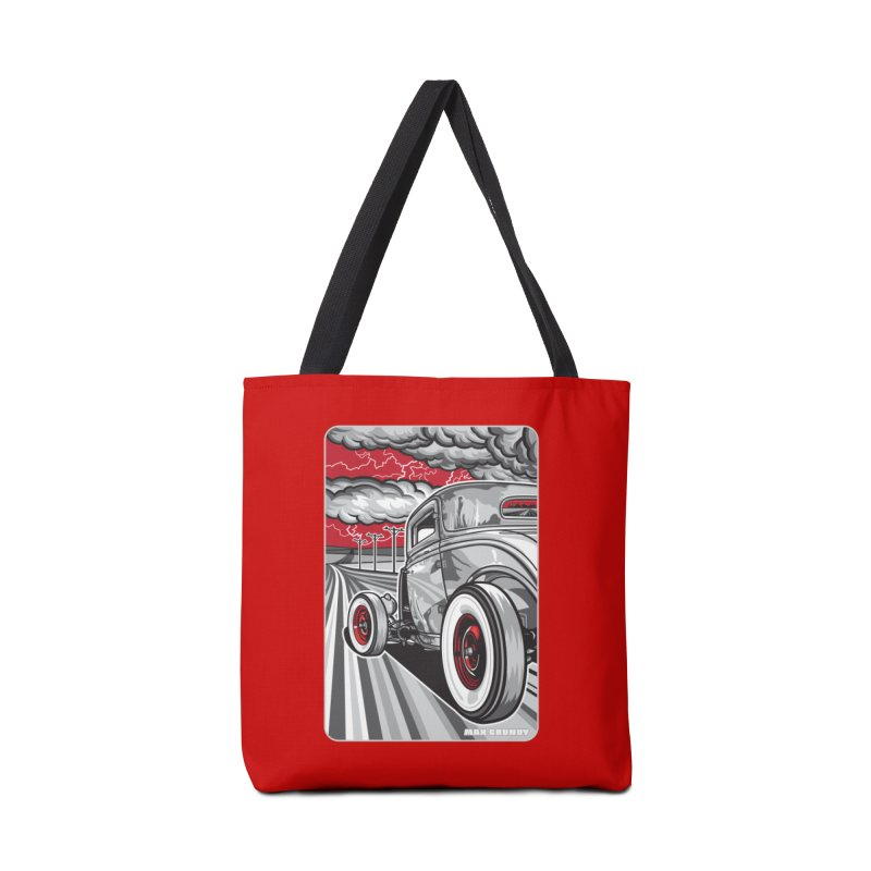 LIGHTNING ROD Accessories Bag by Max Grundy Design's Artist Shop