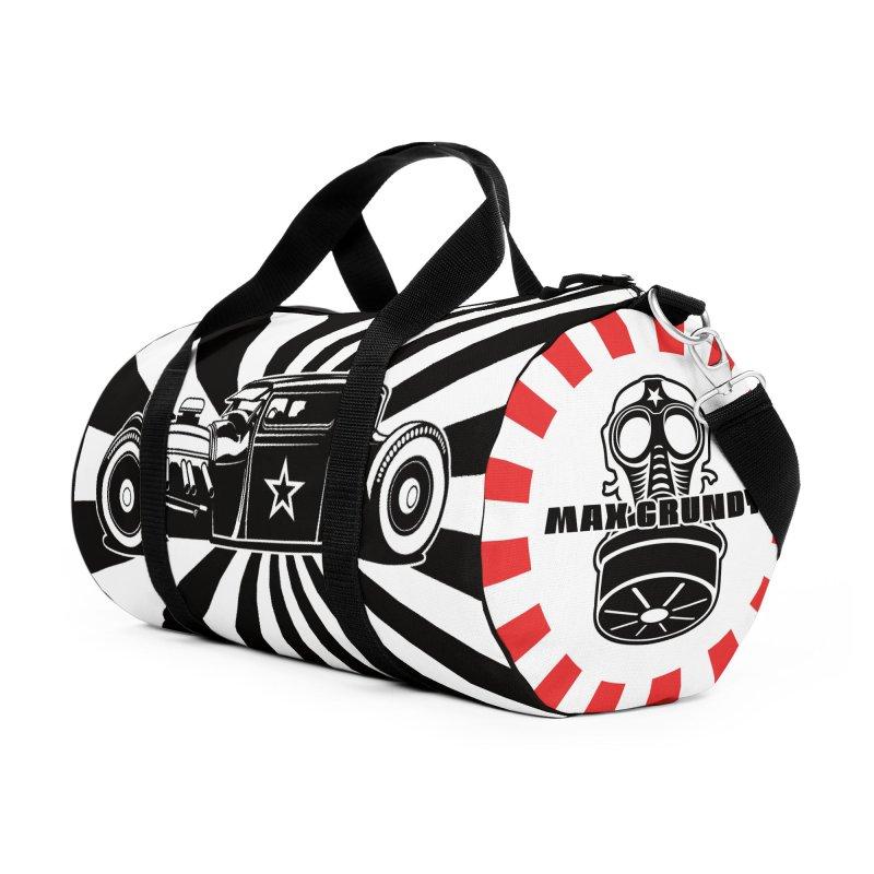SUNBURST duffel bag Accessories Bag by Max Grundy Design's Artist Shop