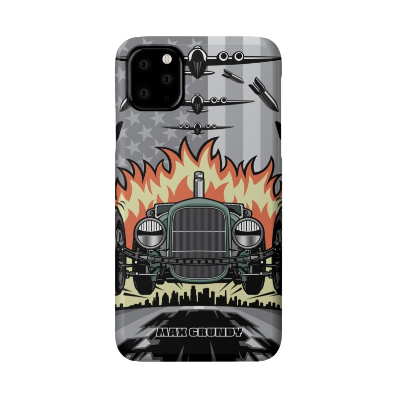 THE GREEN AGENDA cell phone case Accessories Phone Case by Max Grundy Design's Artist Shop