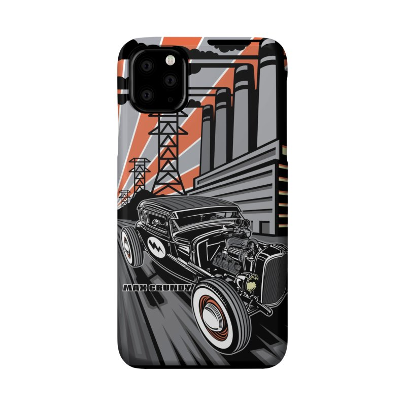 VOLTAGE HIGHWAY cell phone case Accessories Phone Case by Max Grundy Design's Artist Shop