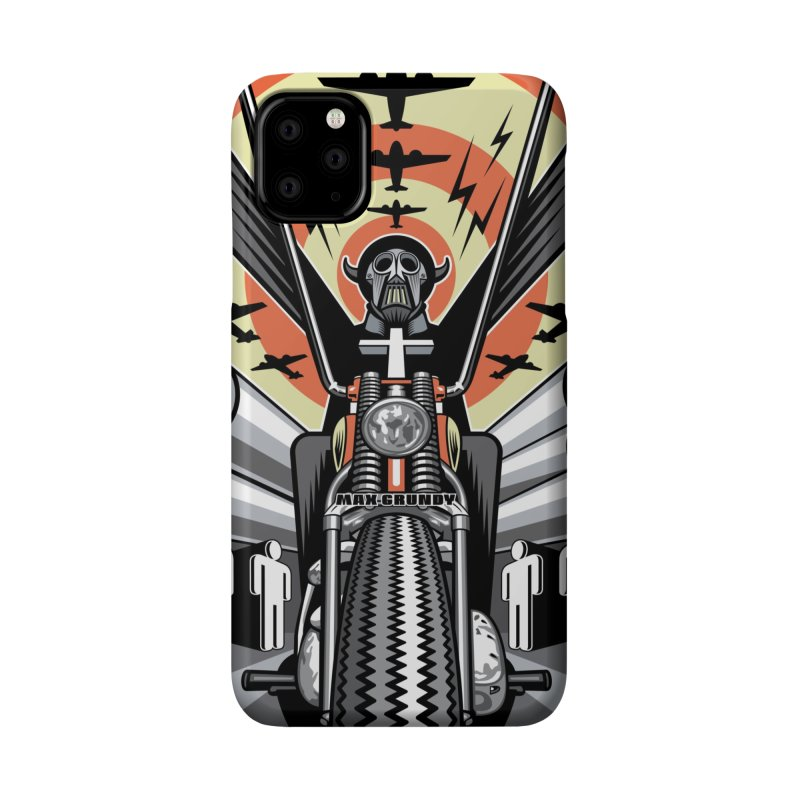 HORSEMAN OF THE APOCALYPSE cell phone case Accessories Phone Case by Max Grundy Design's Artist Shop