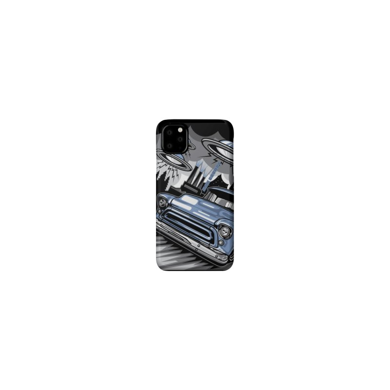 UFO TASK FORCE cell phone case by Max Grundy Design's Artist Shop