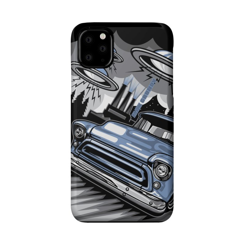 UFO TASK FORCE cell phone case Accessories Phone Case by Max Grundy Design's Artist Shop