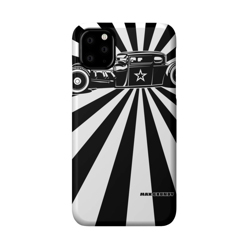 SUNBURST cell phone cover Accessories Phone Case by Max Grundy Design's Artist Shop