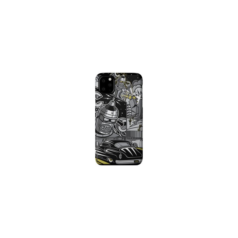 3-D B cell phone case by Max Grundy Design's Artist Shop