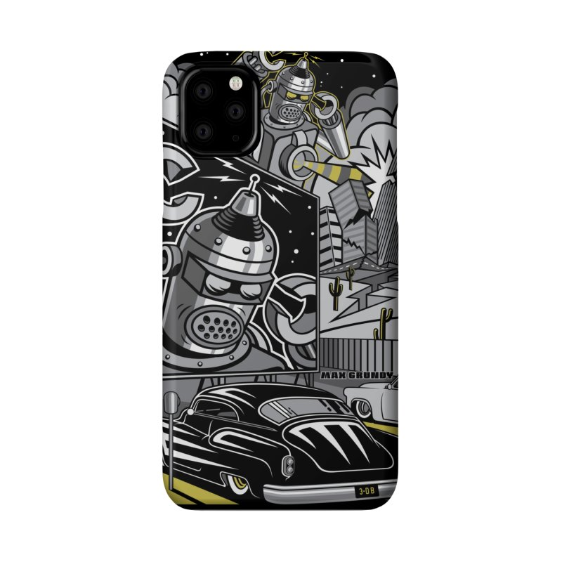 3-D B cell phone case Accessories Phone Case by Max Grundy Design's Artist Shop