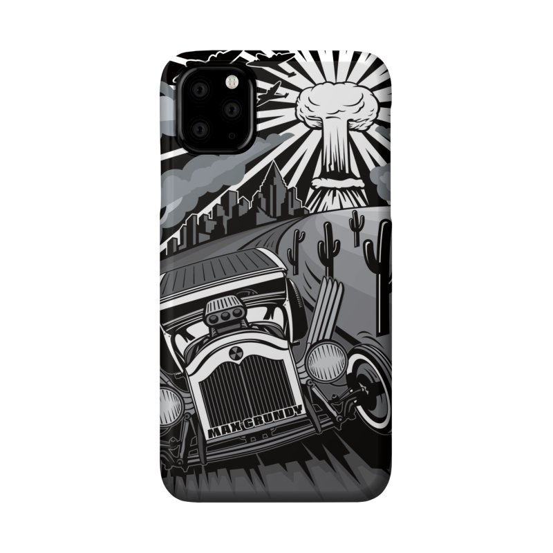 ESCAPE FROM LA cell phone case Accessories Phone Case by Max Grundy Design's Artist Shop