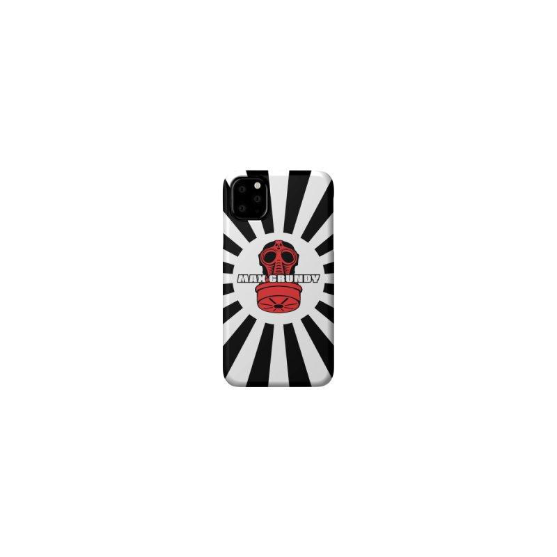 BONZAI (black) cell phone case by Max Grundy Design's Artist Shop