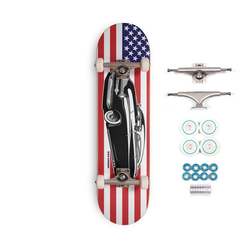 AMERICAN ORIGINAL skateboard deck Accessories Complete - Basic Skateboard by Max Grundy Design's Artist Shop
